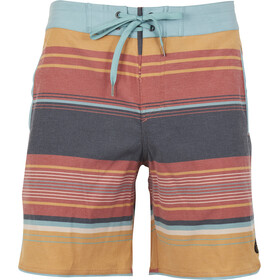 United By Blue Seabed Scallop Boardshorts Men Canyon Orange